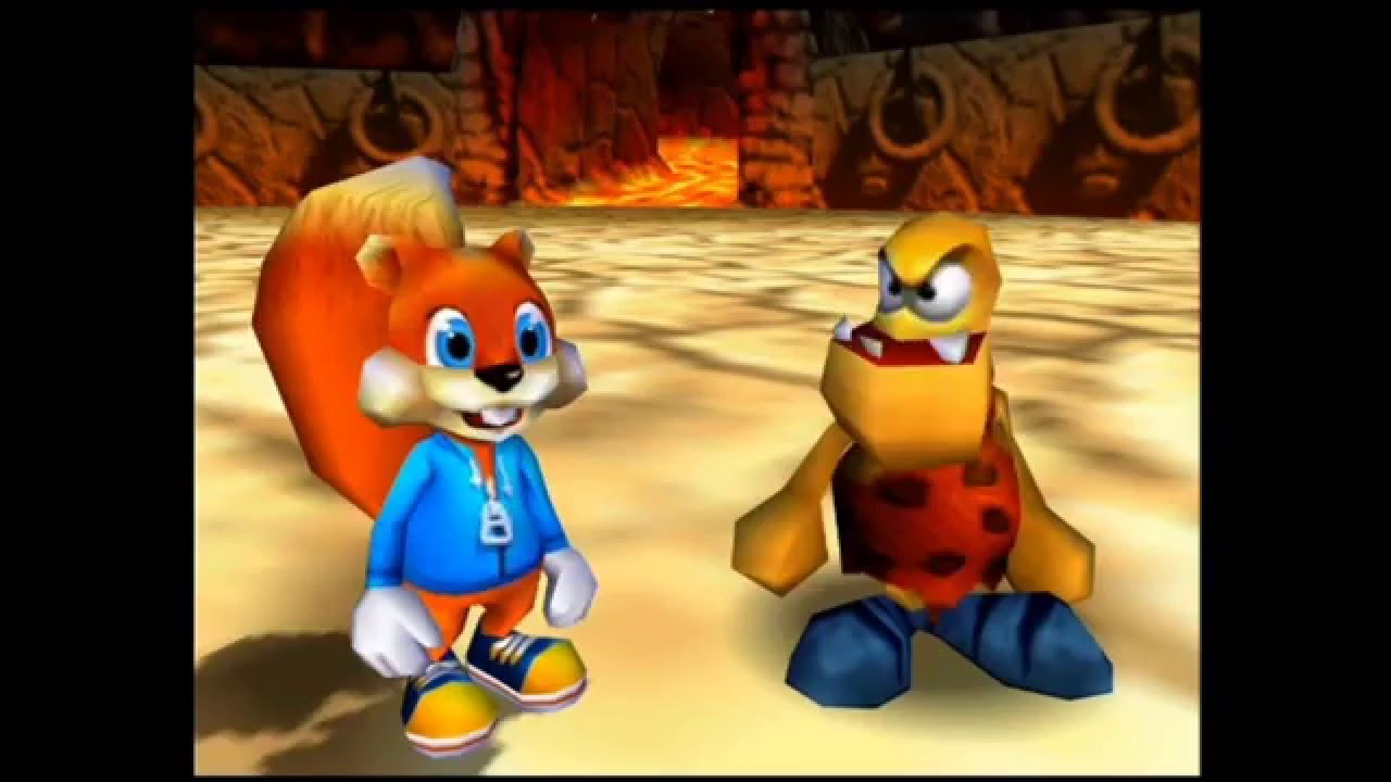 Conker's bad Fur Day on Nintendo 64