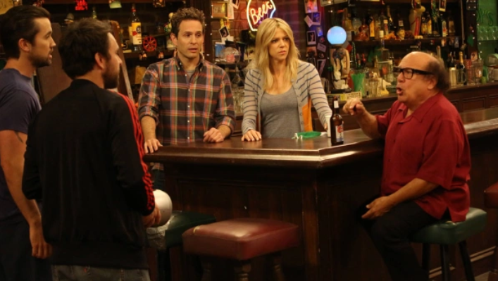 The gang at Paddy's from Always Sunny