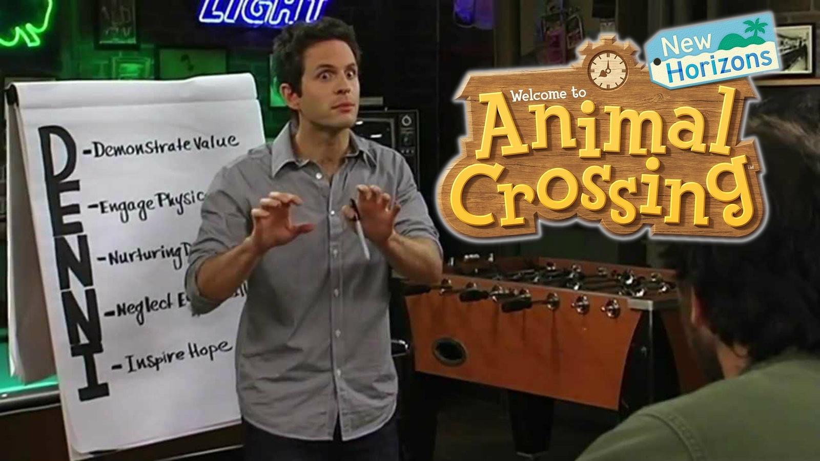 Always Sunny meets Animal Crossing