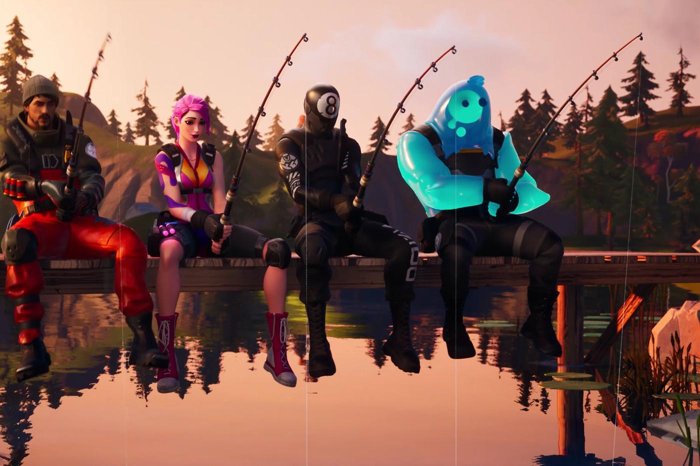 Fortnite Season 3 fishing