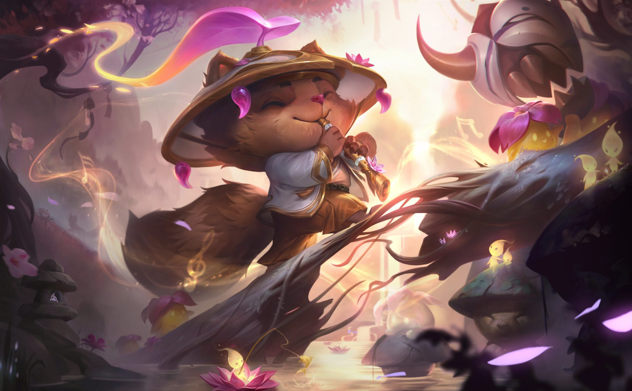 Teemo gets the Spirit Blossom Prestige skin for this event.