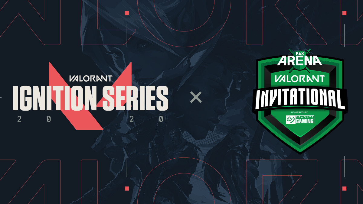 Pax arena Ignition series valroant event graphic