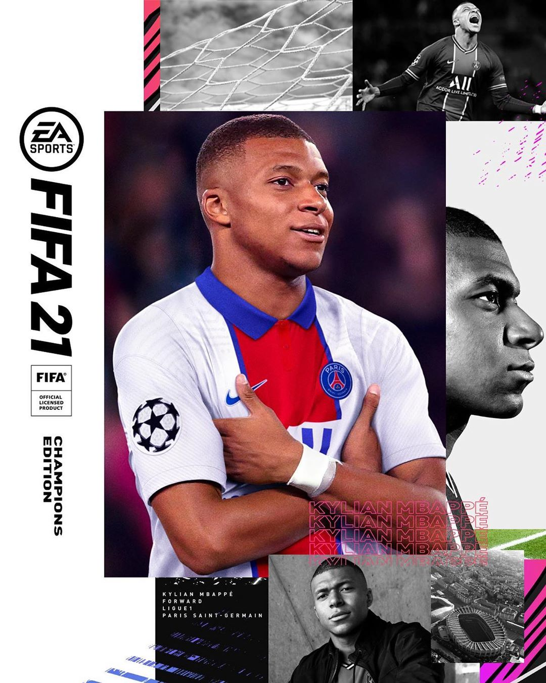mbappe fifa 21 champions edition