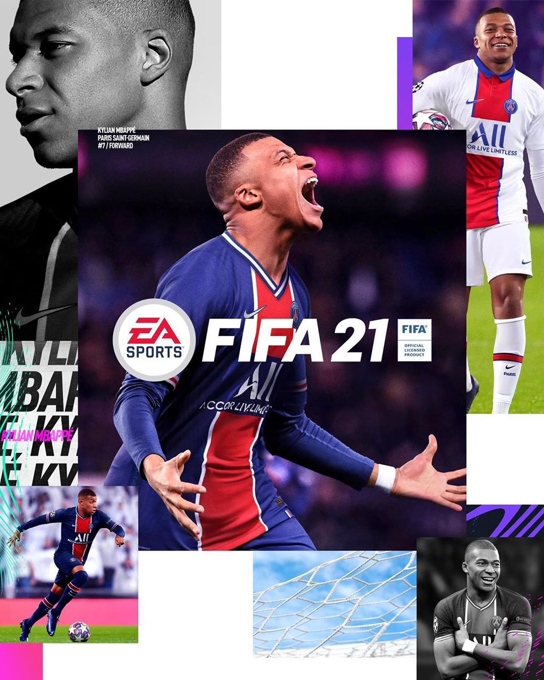 mbappe fifa 21 standard edition