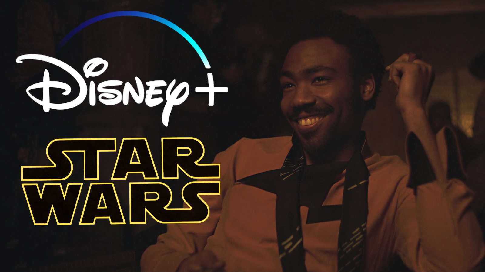 Donald Glover as Lando at a bar