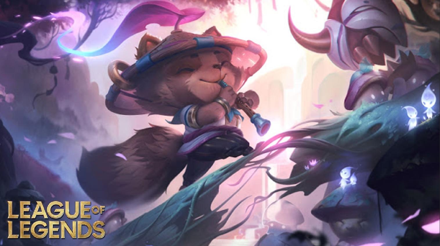 teemo's spirit blossom skin