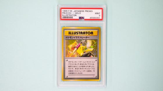 Pokemon Illustrator card sold for $250,000