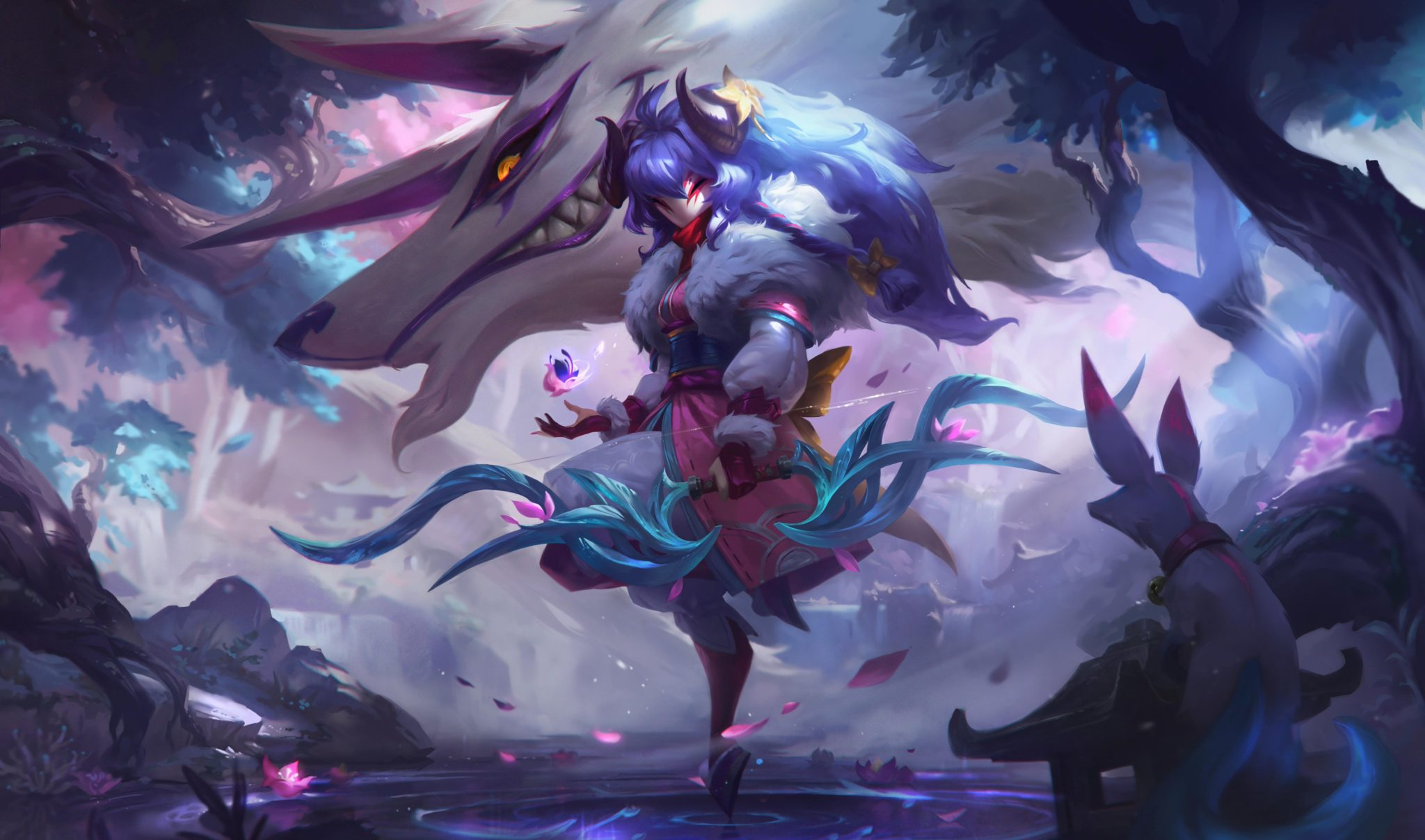 Kindred Spirit Blossom skin League of Legends