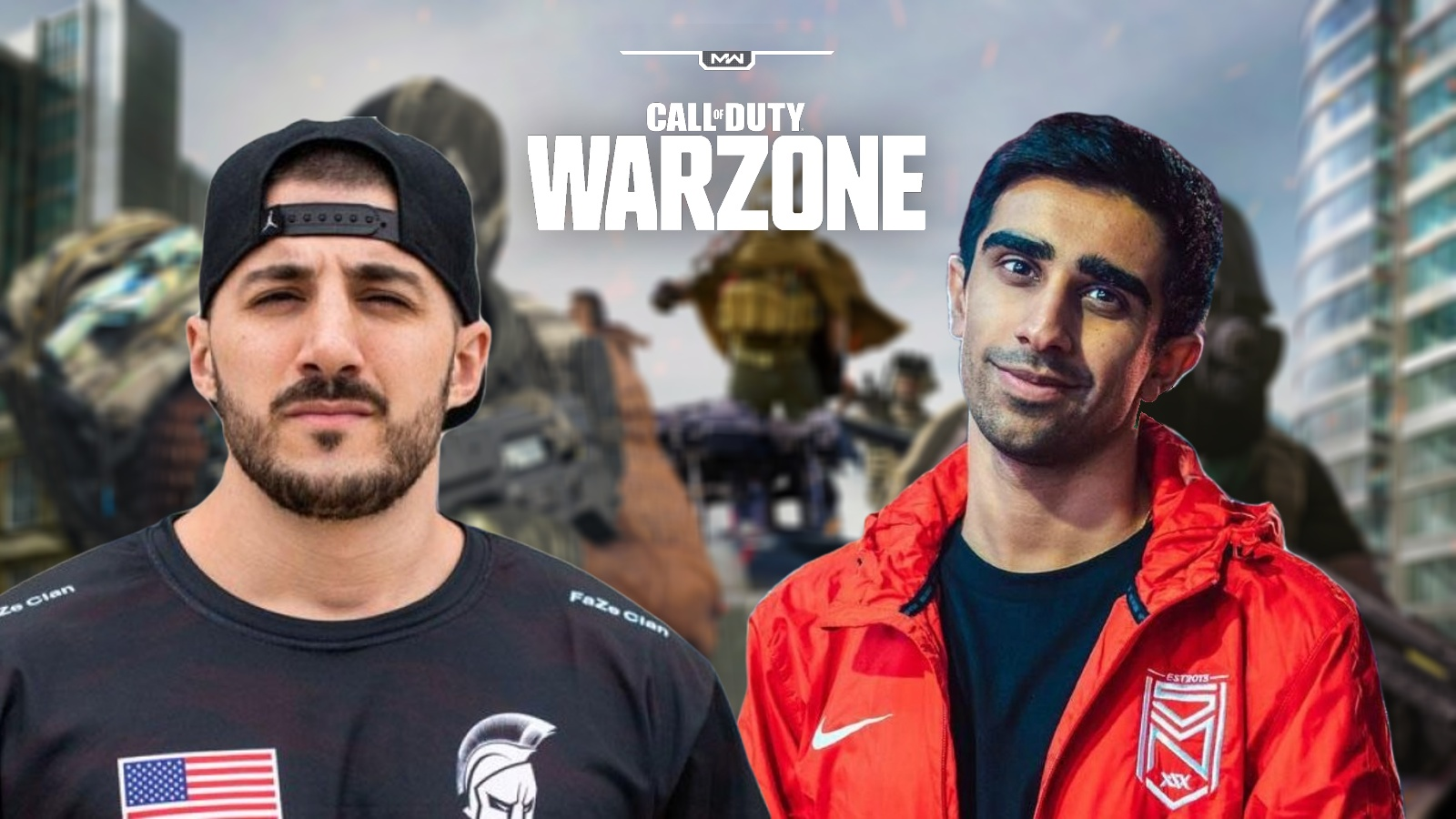 Nickmercs and Vikkstar Warzone
