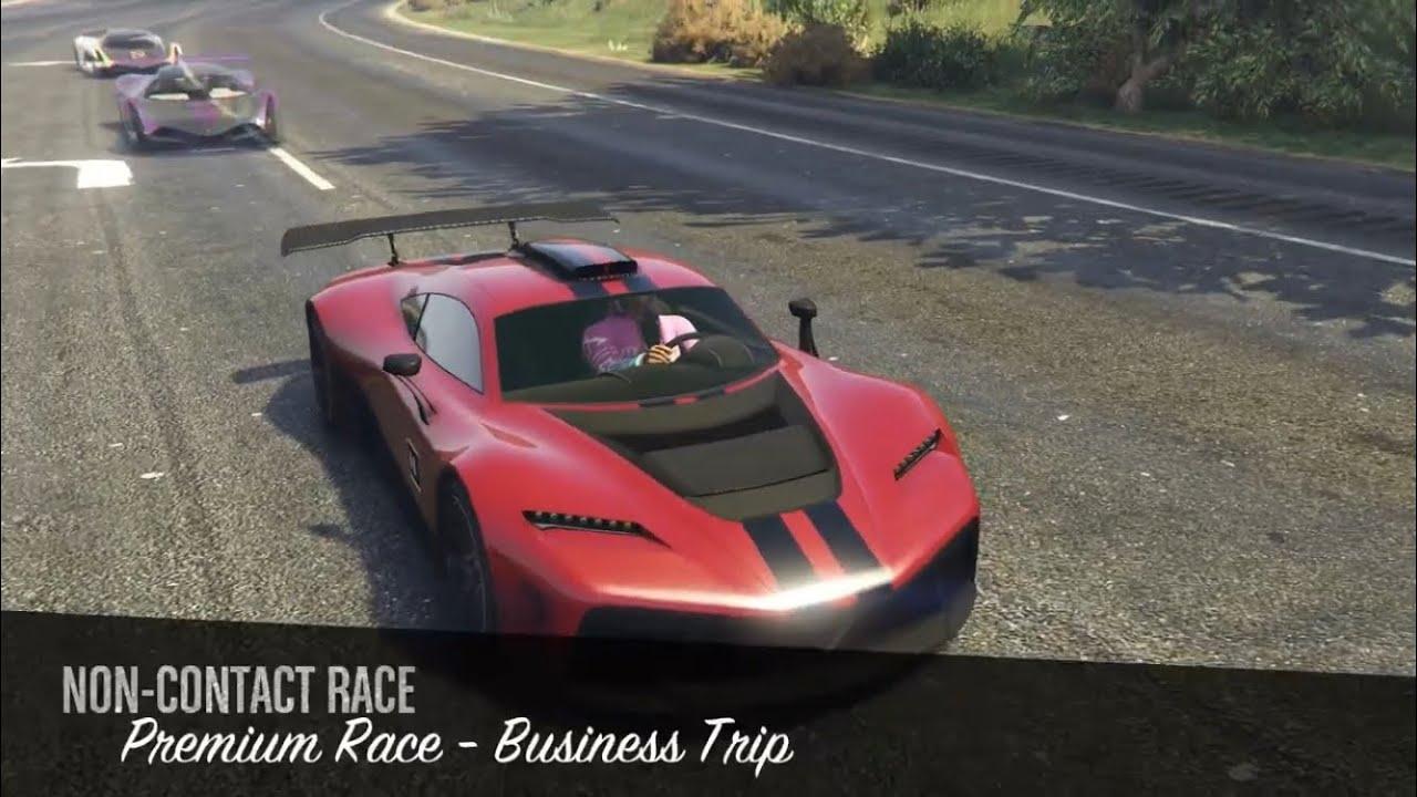 Business trip race in gta online
