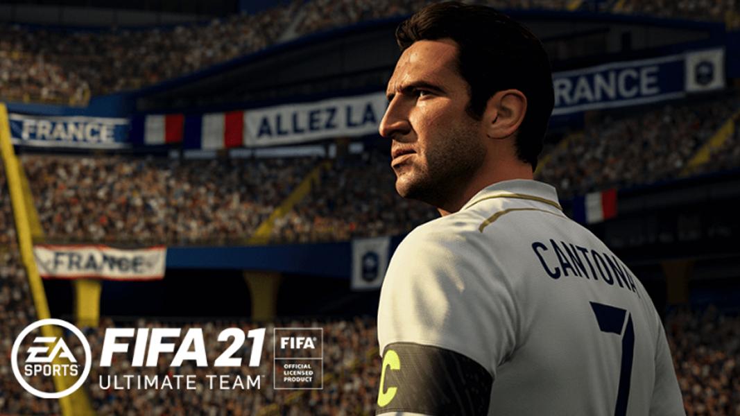 Eric Cantona in FIFA 21