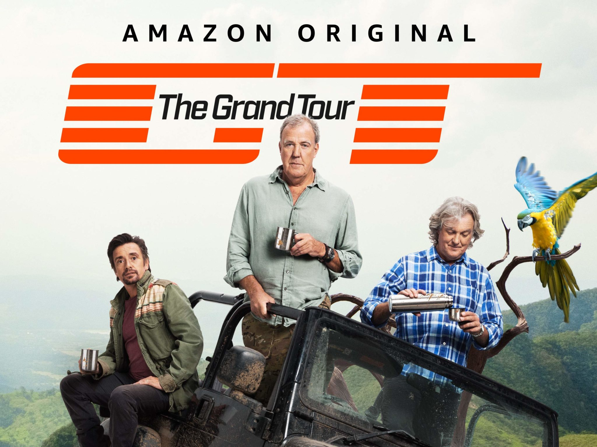 The Grand Tour Richard Hammond, Jeremy Clarkson, James May