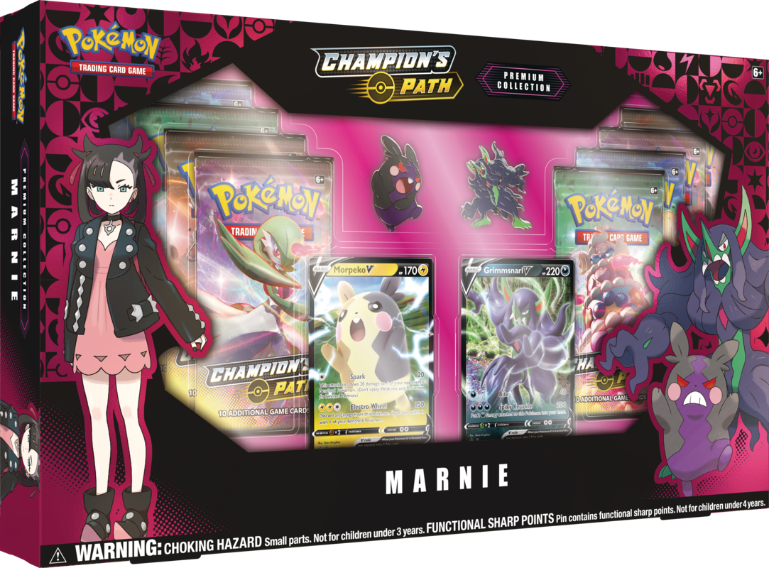 pokemon champion's path marnie box