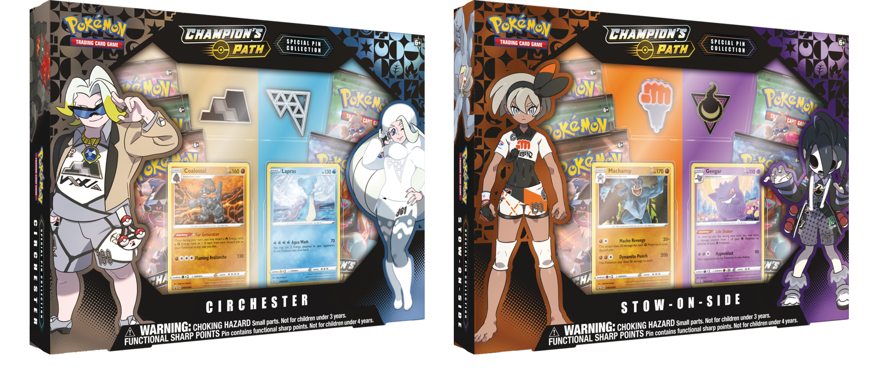 pokemon champion's path circhester and stow-on-side boxes