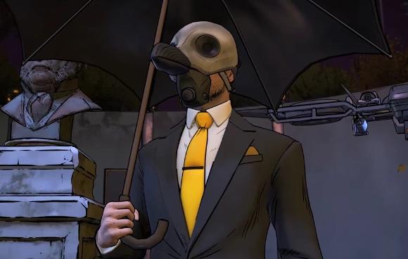 Penguin from Telltale's Batman series