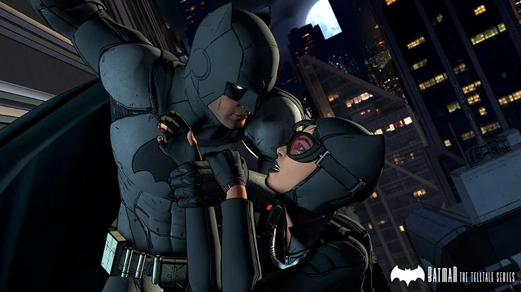 Batman and Catwoman from Telltale