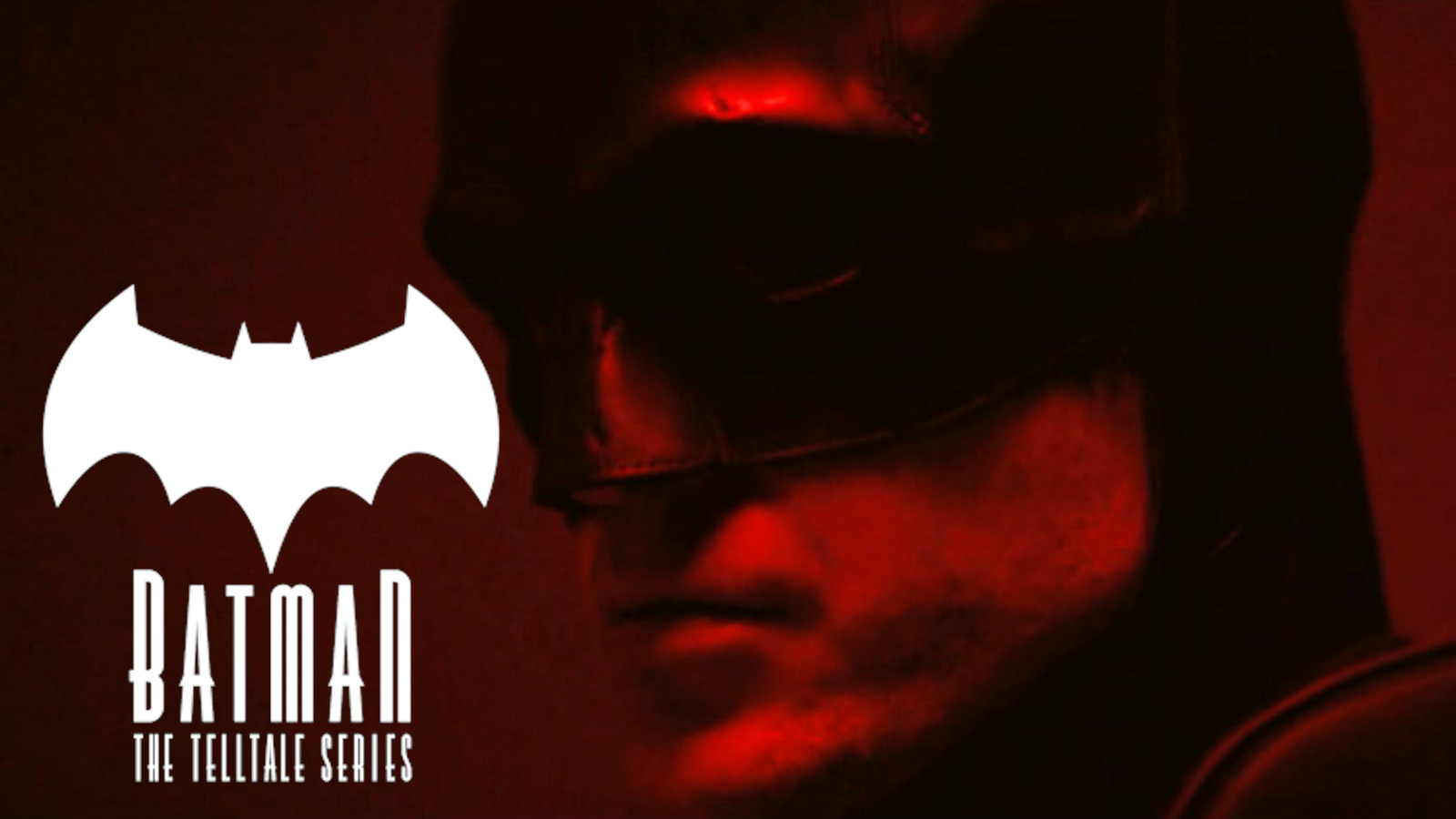 The Batman with Telltale logo