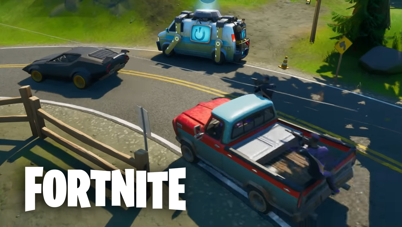 Fortnite Season 3 new vehicles