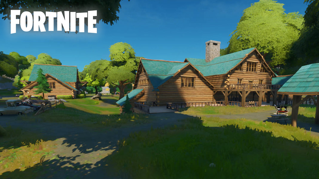 Weeping Woods lodge in Fortnite