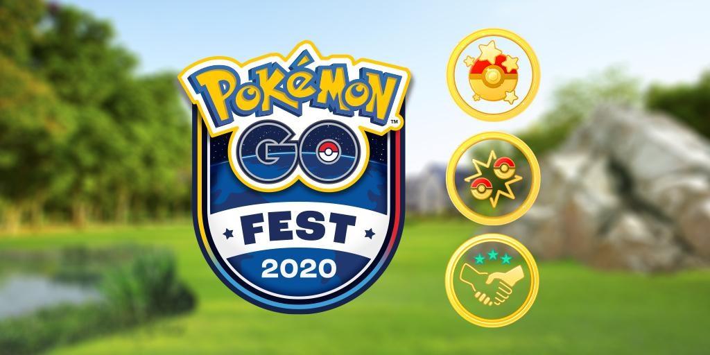 Pokemon GO Fest 2020 Home