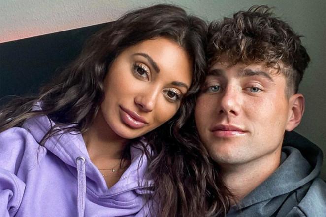 Francesca Farago and Harry Jowsey