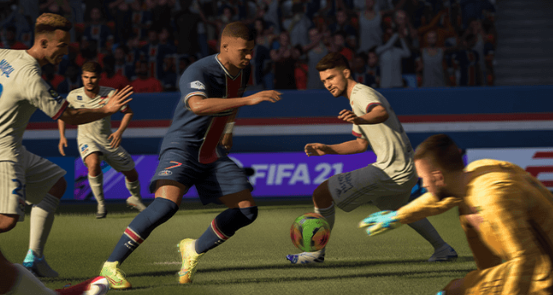 Kylian Mbappe in FIFA Ultimate Team