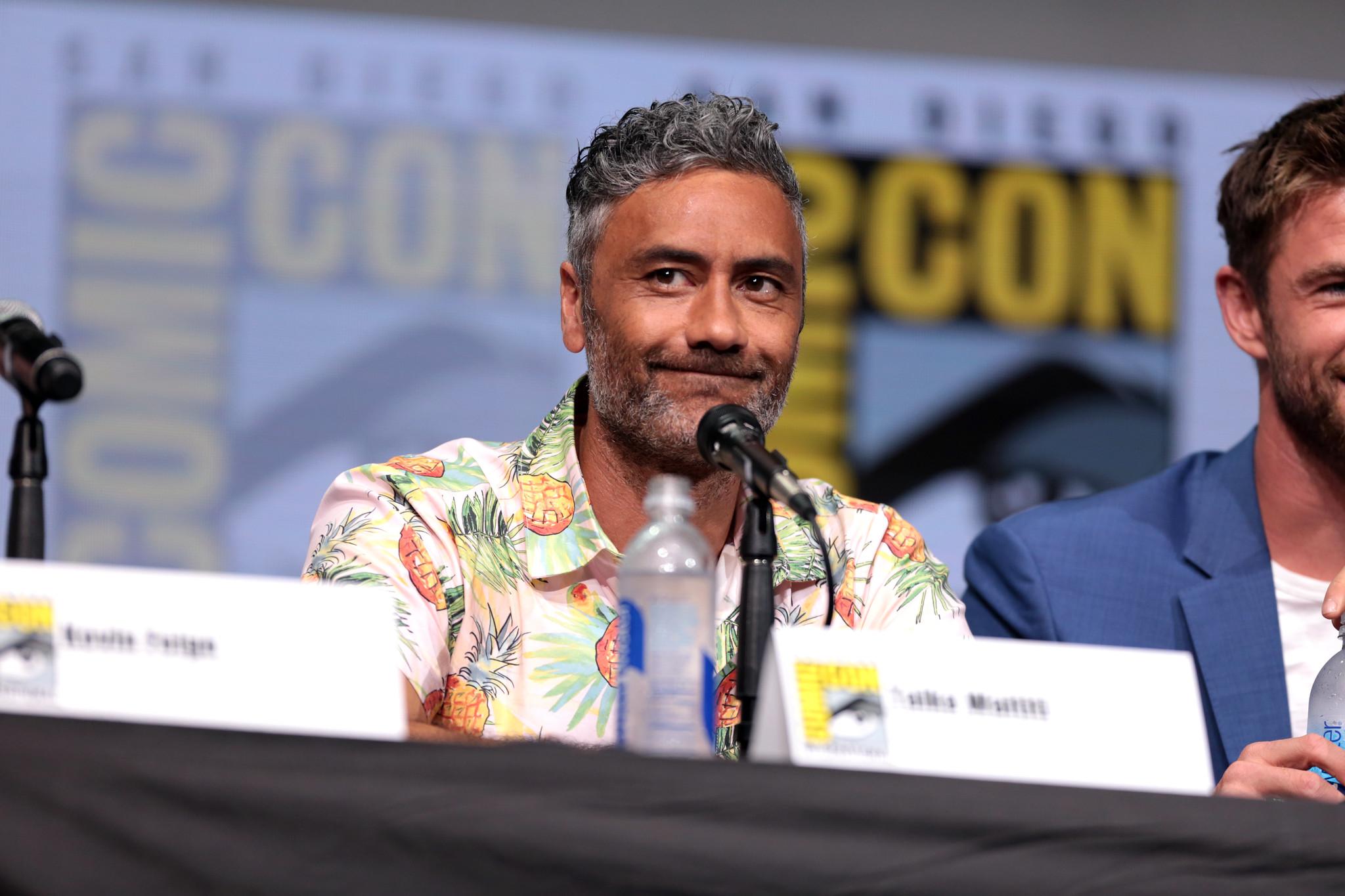 Taiki Waititi at Comic Con