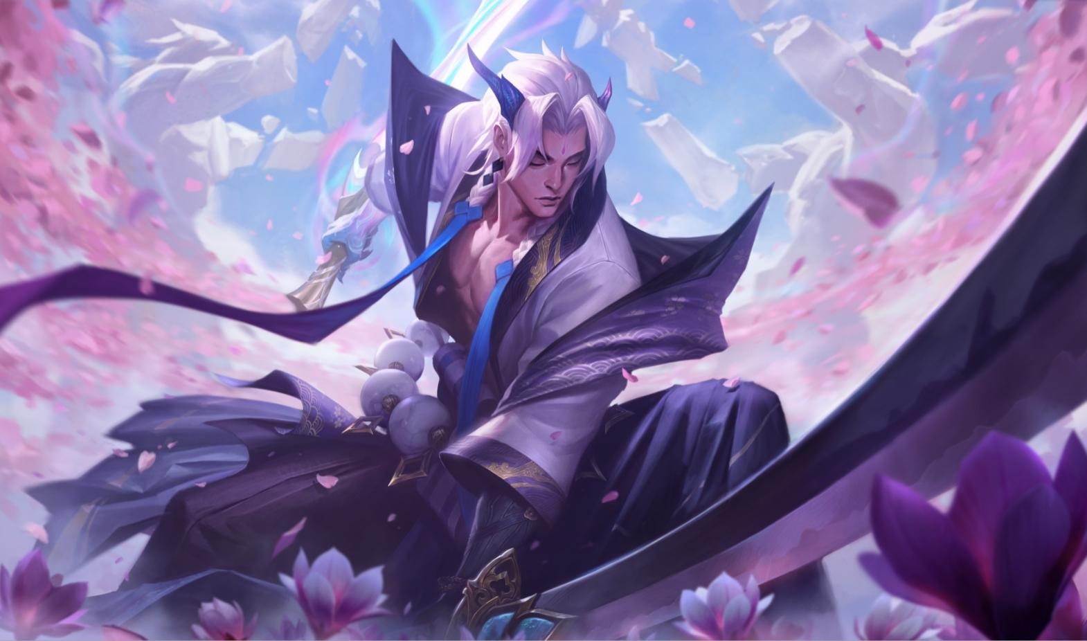 yone's spirit blossom skin