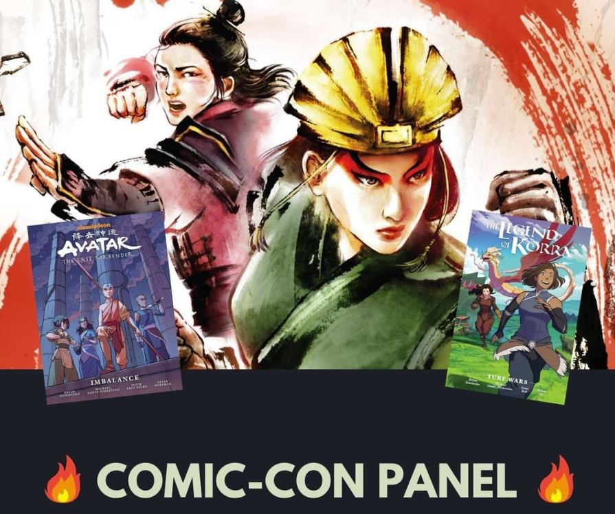 avatar comic con panel