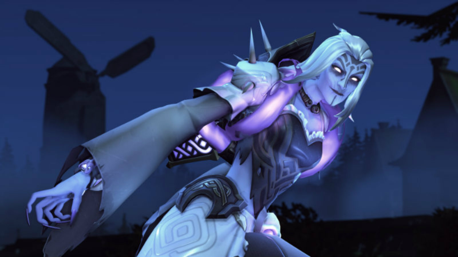 Moira's Halloween Overwatch skin