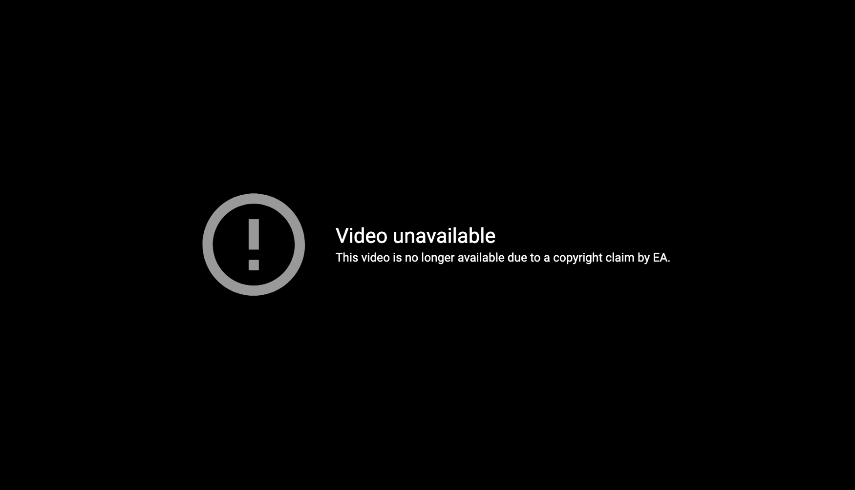 EA copyright striking FIFA leaks on YouTube