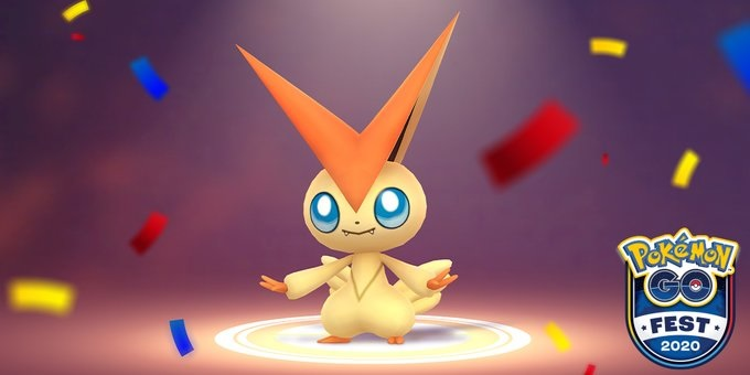 Victini Pokemon Go