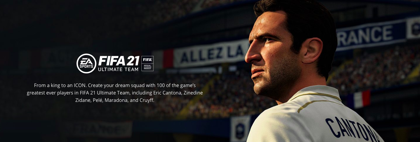 EA Sports confirming 100 icons in FIFA 21.