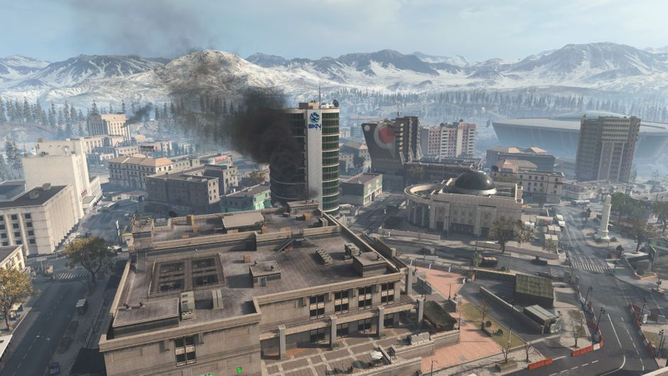 Downtown POI in warzone