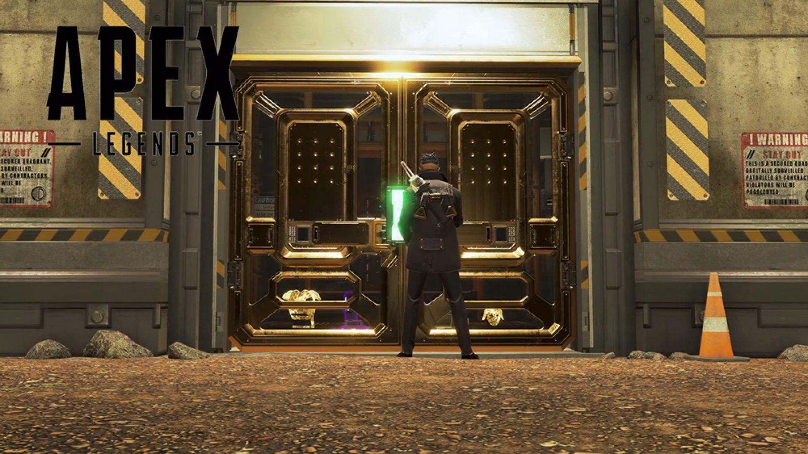 loot vault in apex being opened