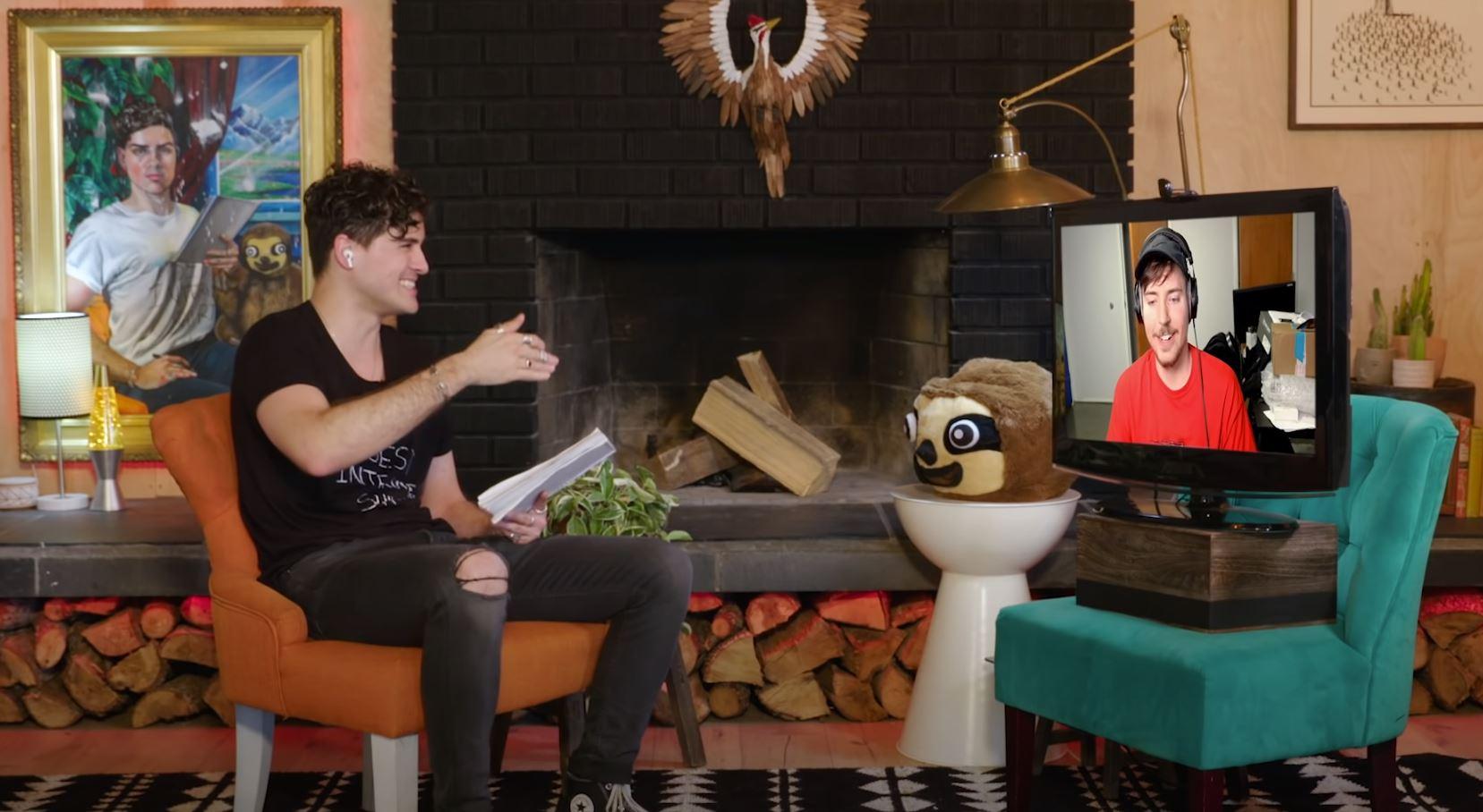 anthony padilla interviewing mr beast
