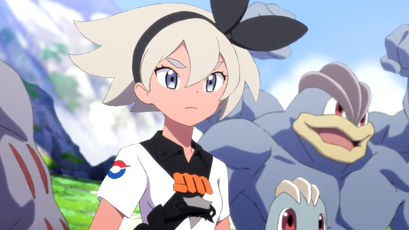 Pokemon Sword gym leader Bea is set to make her Journeys debut next month.
