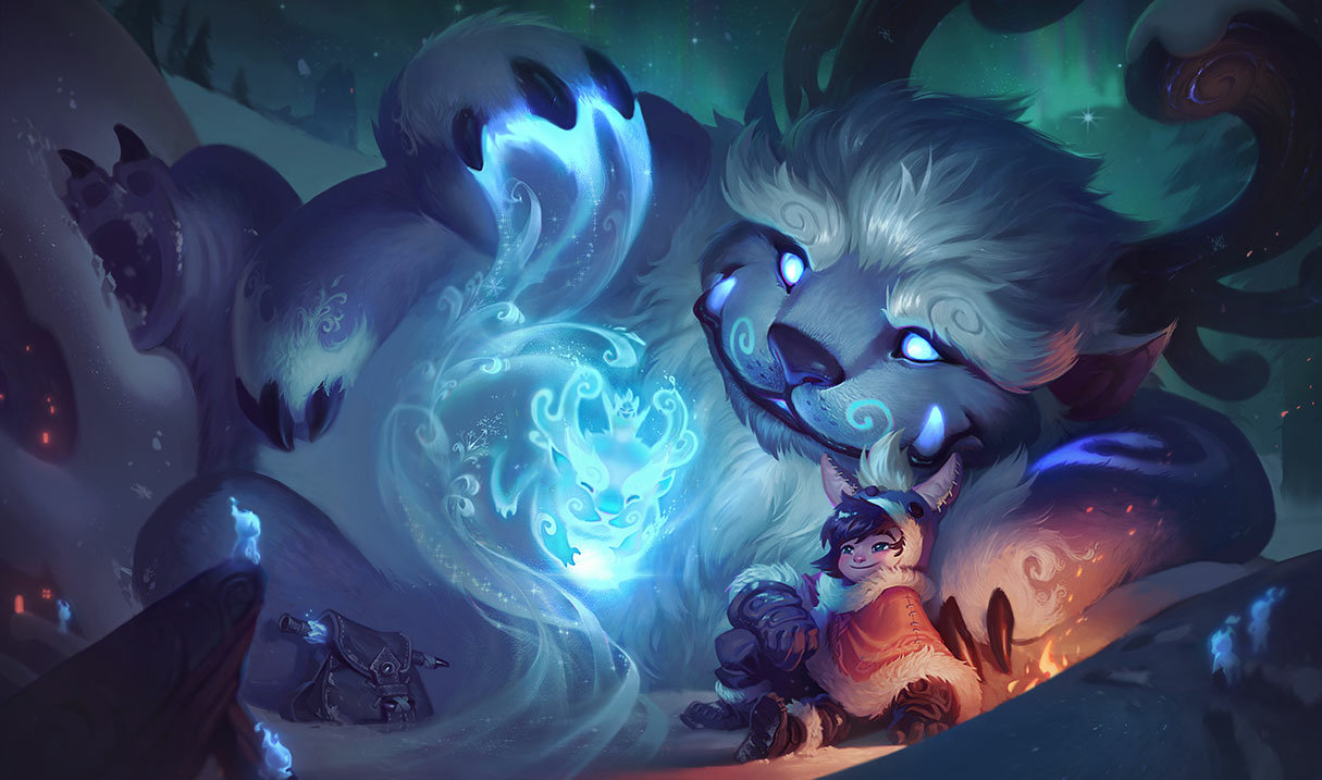Nunu and Willump in League of Legends