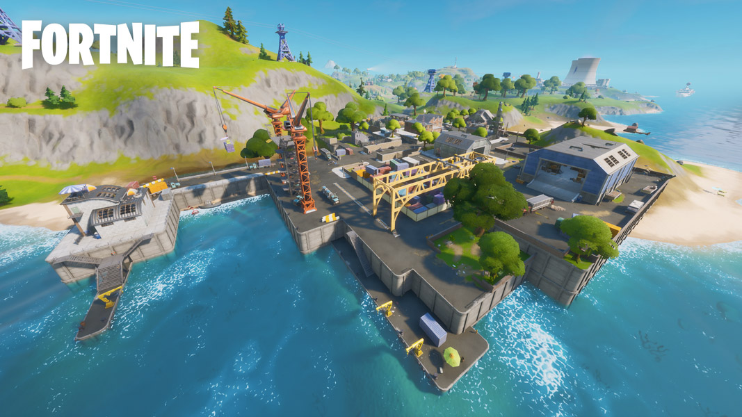Dirty Docks in Fortnite