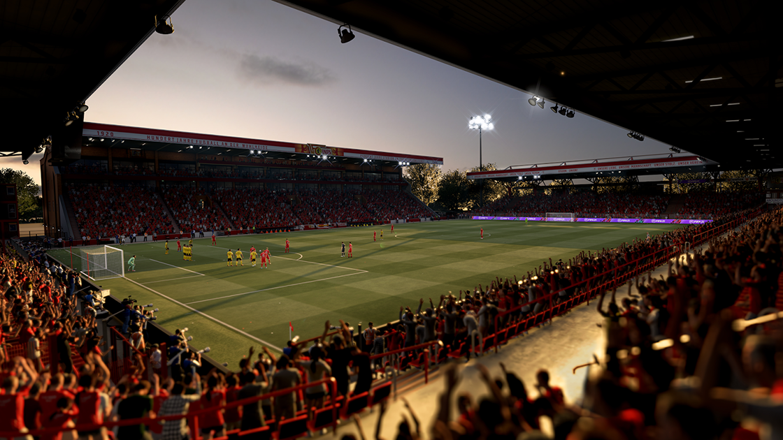 Union Berlin's stadium in FIFA 21.