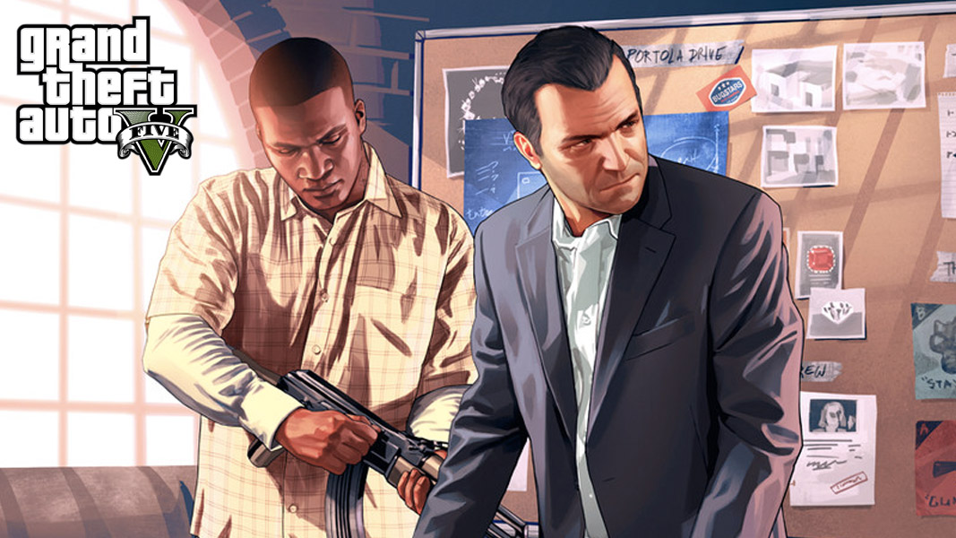 Michael and Franklin from GTA V