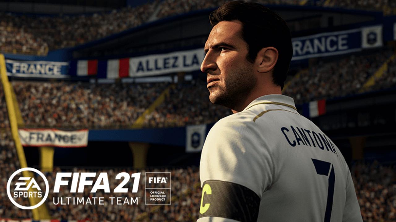 FIFA 21 Eric Cantona Icon