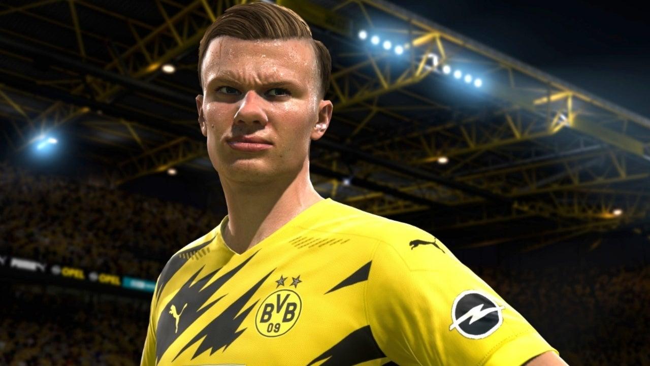 FIFA 21 Dortmund Erling Braut Haaland