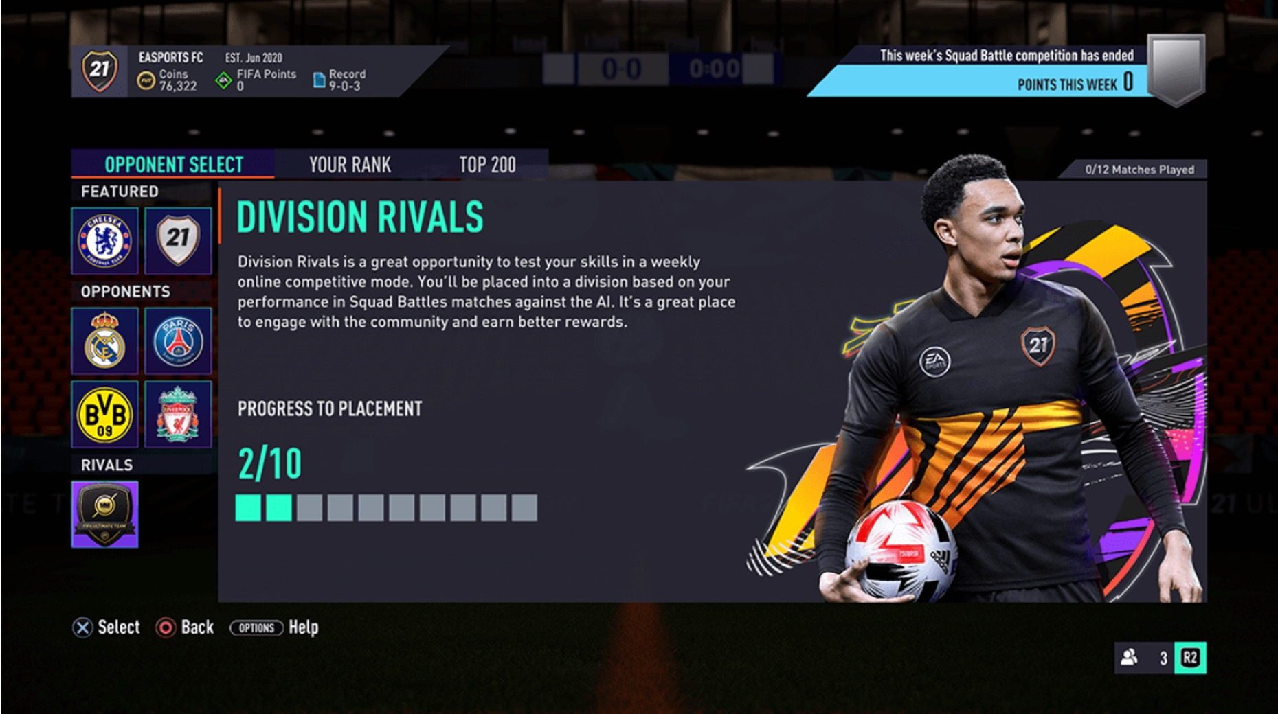 FIFA 21 Division Rivals