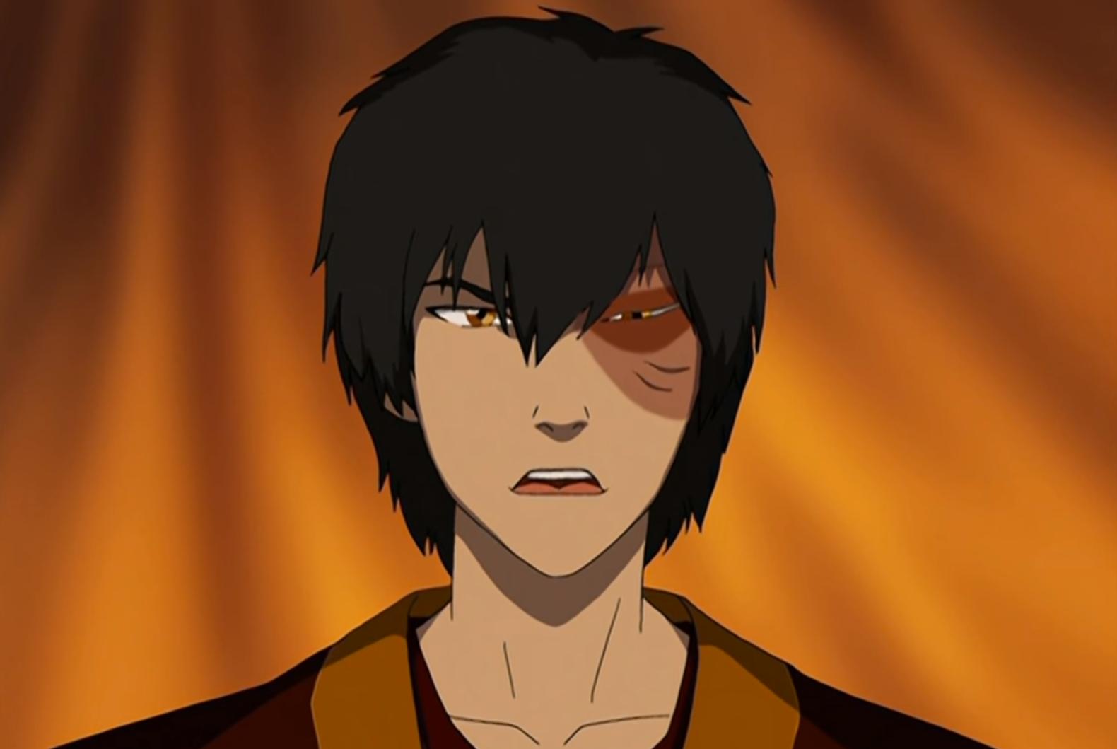 zuko looking angry avatar