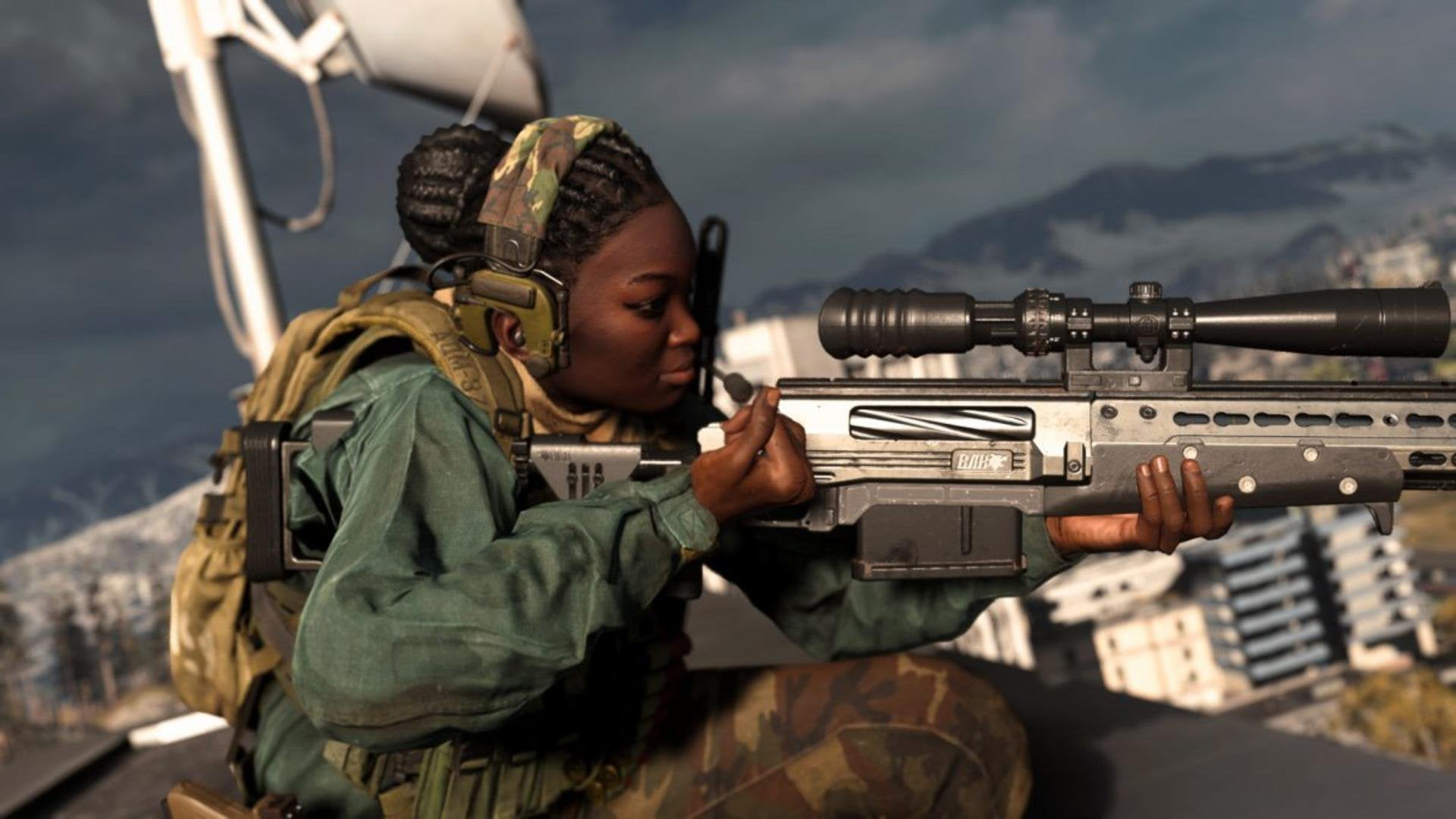 Call of Duty Warzone sniping