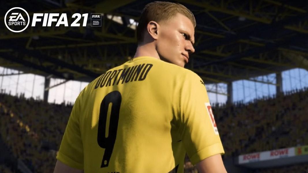 Erling Haaland in FIFA 21