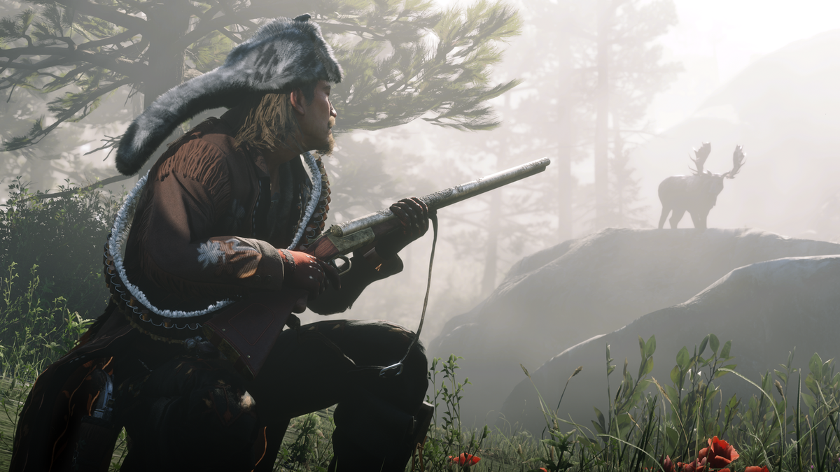 Player in Red Dead Online