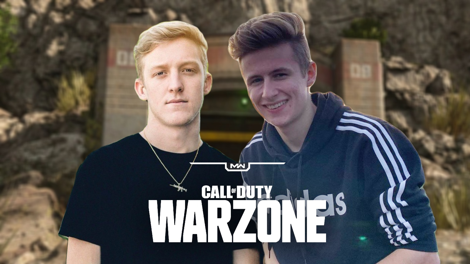 Tfue and Symfuhny on Warzone