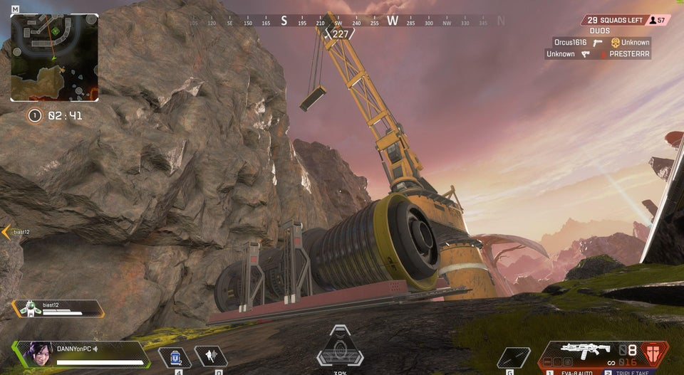 Rocket in Apex Legends on the ground